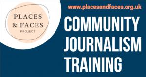 Community Journalism Training Banner English